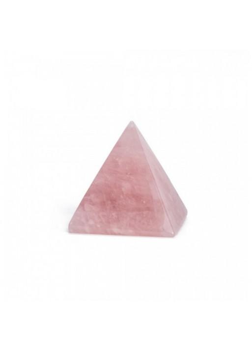 Pirámide de cuarzo Rosa 3